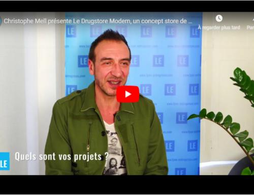 Christophe Mell présente LE DRUGSTORE MODERN, un concept store de mobilier en ligne