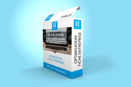 Offre d'optimisation fiche entreprise annuaire Lyon-Entreprises