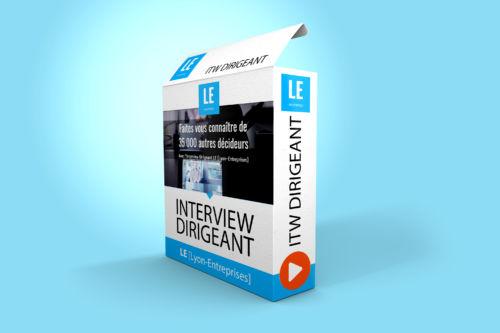 interview dirigeant 3' diffusé sur Lyon-Entreprises