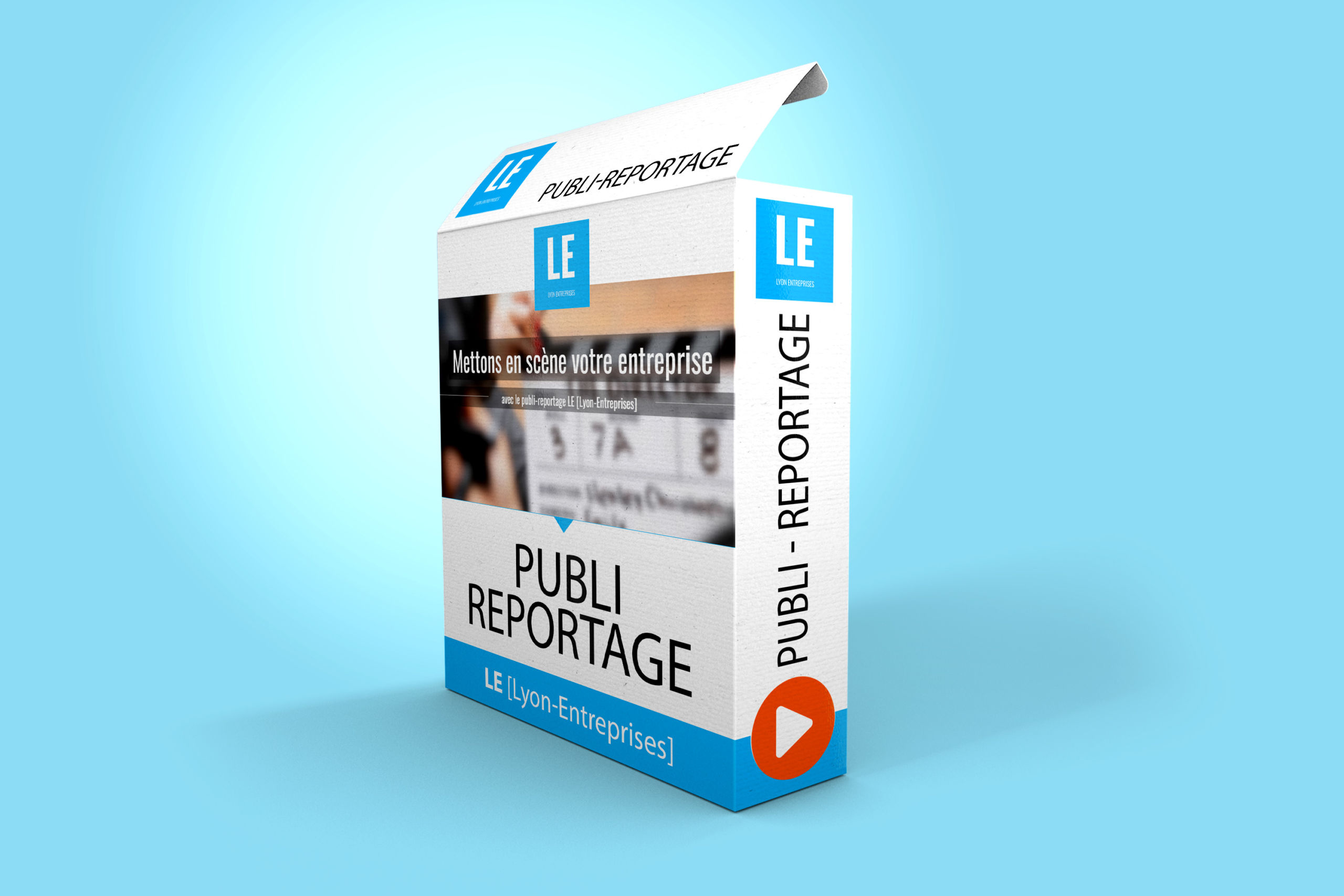 publi-reportage vidéo diffusé sur Lyon-Entreprises